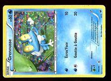 PROMO POKEMON CARD FRANCAISE MAC DONALD N&B 2014 HOLO N°  4/12 GRENOUSSE ....(U)