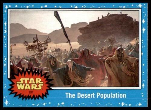 2019 Topps Journey to Rise of Skywalker Base #101 The Desert Population