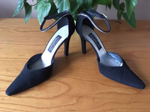 7 For 40 Linen Bromley Stuart Black Weitzman Eu Uk Diamante Court Shoes Russell gHxvvA5w