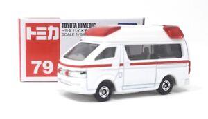 Tomica-DIECAST-maqueta-de-coche-1-64-nr-79-toyota-himedic-ambulancia-Takara-Tomy