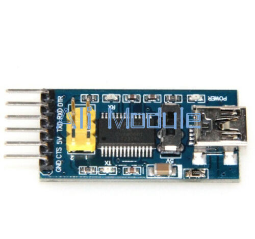 New Basic Breakout Board For FTDI FT232RL USB to Serial IC For Arduino