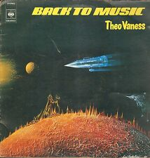 "LP 12"" 30cms: Theo Vaness: back to music, CBS A9"