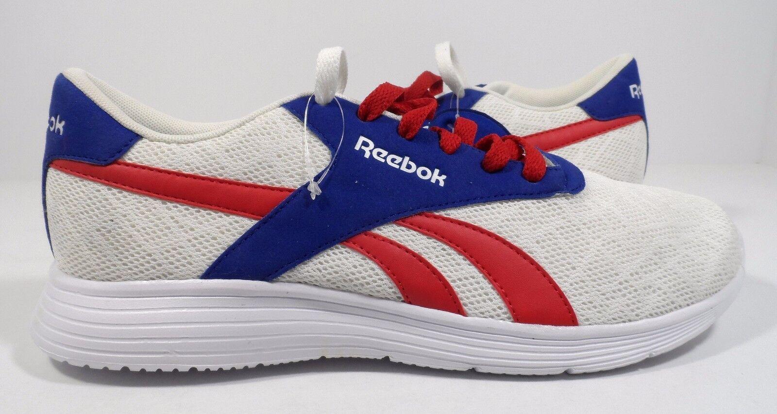 129086101f1 Reebok Men s Royal Ec Ride Ride Ride Fashion Sneaker White Blue Red Size 9  f0811f