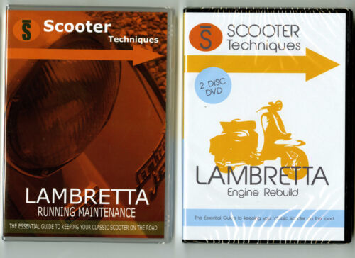 Lambretta Running Maintenance & Engine Rebuild DVDs