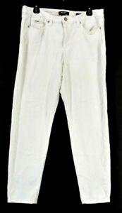 Nine-West-Jeans-Women-039-s-Size-14-Gramercy-Skinny-Ankle-Denim-Jeans-White
