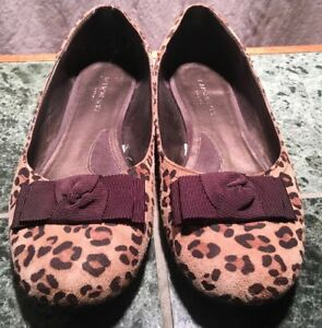 Image is loading Isaac-Mizrahi-for-Target-Leopard-Ballet-Flats-Size- 25a9450d0
