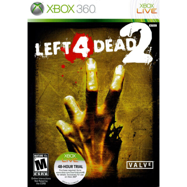 Left 4 Dead 2 Xbox 360 [Factory Refurbished]