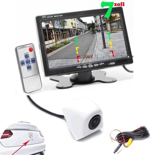 Hecktür Rückfahrkamera inkl Bis zu 5 Jahre Garantie für KFZ PKW Auto Monitor