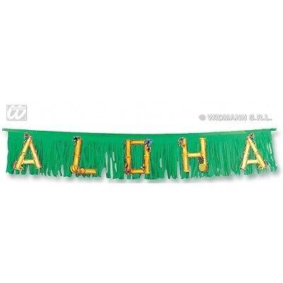 DECORAZIONE FESTONE ALOHA 1,5 M HAWAI FESTA PARTY ESTATE HAWAIANA PISCINA 5054H