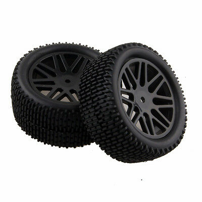 RC 4pcs Front&Rear Tires Insert Sponge Wheel HSP 1:10 Off-Road Buggy 66046-66056