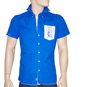 9b235584c Details about Gaastra blue shirt regular lad mens short sleeves- show  original title
