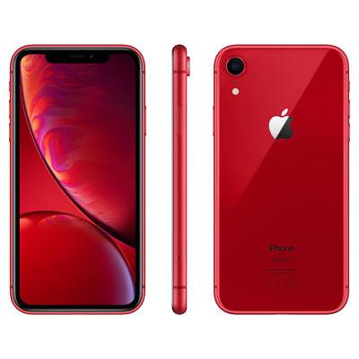 APPLE IPHONE XR 128 Go RED ROUGE Désimlocké 4G ECRAN 6.1 Pouces 12MPx 128Go