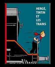 Hergé, Tintin et les trains