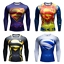 Mens-Marvel-Compression-Armour-Base-Layer-Gym-Top-Superhero-Cycling-T-shirt-fit thumbnail 1