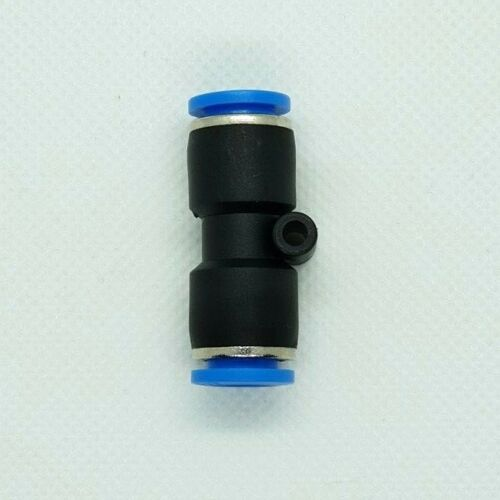 Equal Straight Connector Pneumatic Push-In Fitting For Air Metric and BSP Sizes