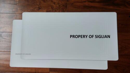 "12/""x24/"" Blank Magnet Sheet for Car Magnet Sign 30 mil 10 SHEETS"