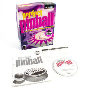 Perfect-Pinball-for-PC-CD-ROM-by-Instant-Access-in-Big-Box-1995-VGC-CIB