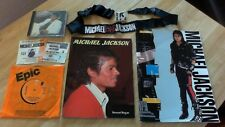Michael Jackson - Thriller CD, 1988 Tour Tickets and Programme and more!