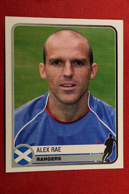 104 RAE DUNDEE TOP MINT! PANINI STICKERS SCOTTISH PREMIER LEAGUE 2004 N
