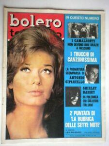 Bolero-1130-Massari-Camaleonti-Cifariello-Bassey-Canfora-Del-Frate-Gaber-Backy