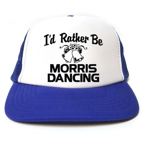Gift Idea 3 colours I/'d Rather Be Morris Dancing Funny Trucker Cap Hat