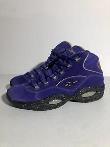 Reebok Question Mid Team Purple Size 15