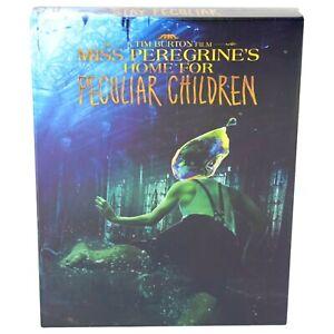 MISS PEREGRINE'S HOME FOR PECULIAR CHILDREN BLU-RAY STEELBOOK FILMARENA SEALED