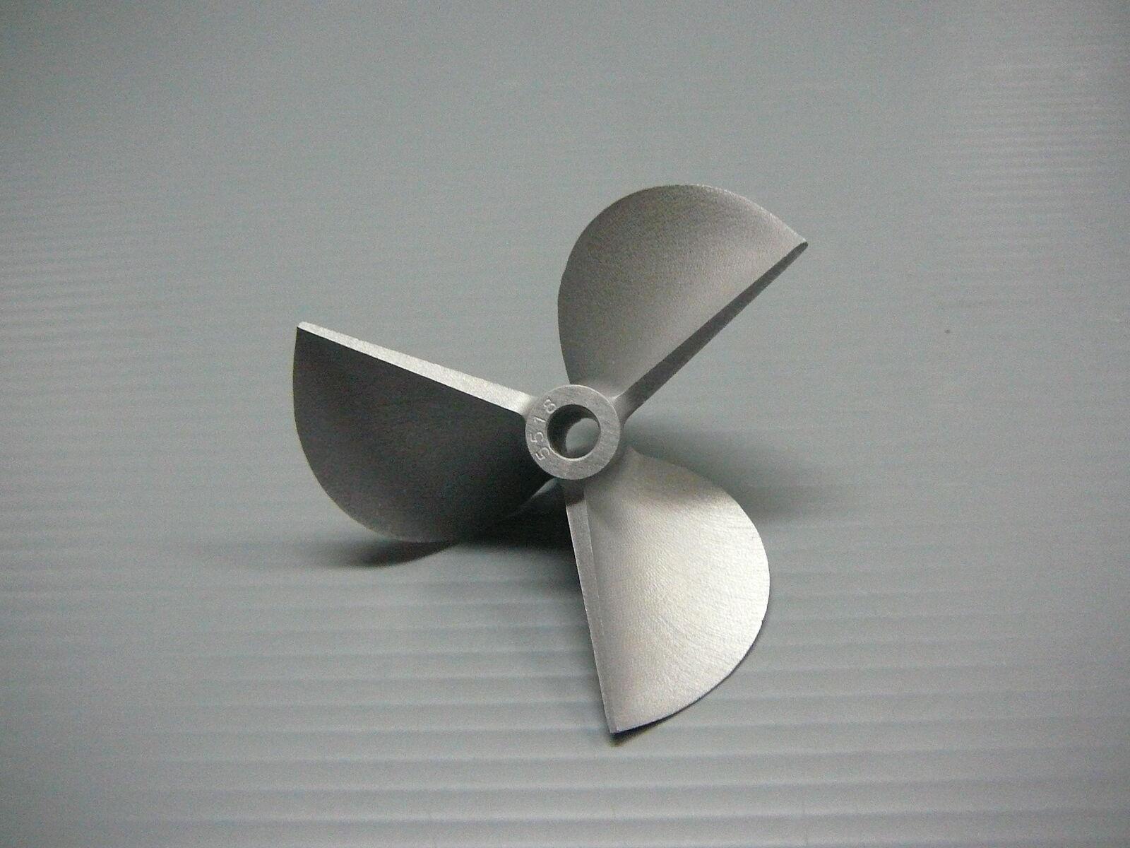 VXP serie 1 4  Eje 69mm diámetro M 1.8p 3 Blade CNC Aleación Prop Vee casco Hélice