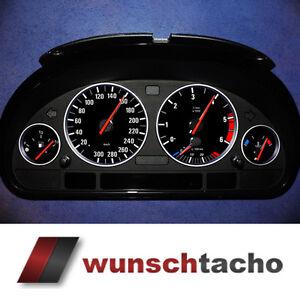 Tachoscheibe-fuer-BMW-E38-E39-E53-X5-034-Black-Orig-034-300-kmh-Diesel