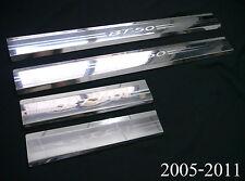4 DOORS SCUFF PLATE STAINLESS STEEL MAZDA BT50 BT-50 07 08 09 10 11 UTE PICKUP