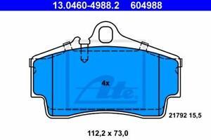 1 Satz Textar Bremsbelag HA Porsche 911 996 997 Boxster 986 987 Cayman 987