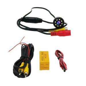 Auto-Car-Rear-View-Backup-Camera-Reverse-8-LED-Night-Waterproof-Best-Vision-D0E8