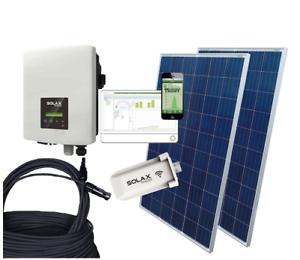 PV-Anlage Selbstmontage mit WLAN komplett 3 kW 3.000 Watt Inselanlage Strom NEU