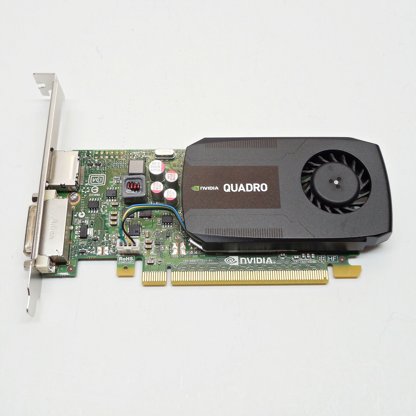NVIDIA Quadro K600 Workstation Graphics Video Card 1GB DVI DP