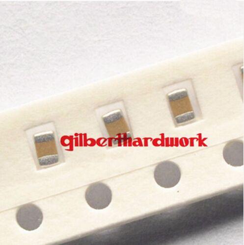100pcs SMD 0805 10V//16V//25V//50V Chip Capacitor Electron Components