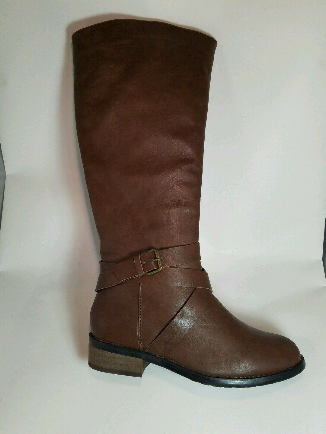 Bucco Capensis Venita Brown Women's Riding Boot SIZE 8.5 BOX IS DISTRESSED