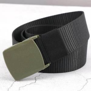 Men-039-s-Outdoor-Sports-Military-Imitation-nylon-Waistband-Canvas-Web-Belt-C-Chic