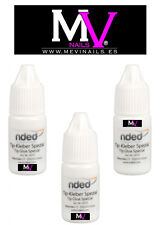 COLLA  UNGHIE FINTE  ALTA Qualità 3g x3  Tips,Gel,Colori acrilici, NDED Nails