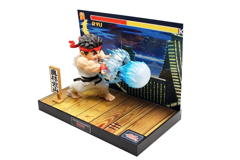 Bigboys Toys T.N.C-01 STREET FIGHTER Statua PVC con suono e led Ryu 17 cm