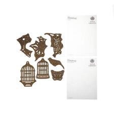 Acanthus Folder Anna Griffin Gold Cuttlebug Version 3 Dies Plates Mat