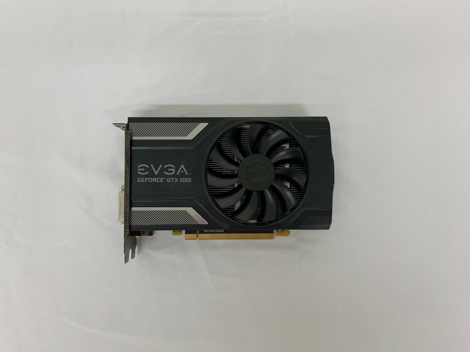 EVGA NVIDIA Geforce GTX 1060 6GB GDDR5 Mini Graphics Card 2