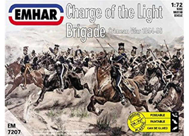 Emhar - Charge of the light brigade - 1:72