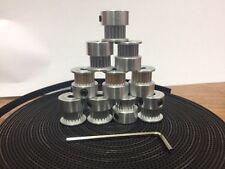 10m 33ft 2GT GT2 Timing Belt 6mm wide & 10X Pulley for 3D printer CNC RepRap etc