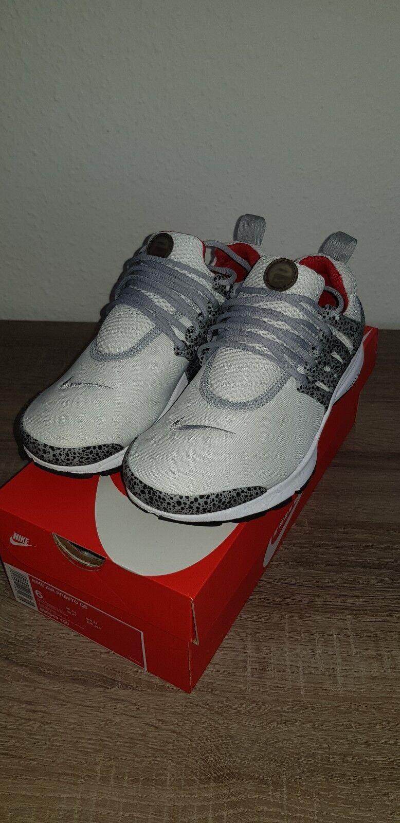 Nike weiß air presto qs safari weiß Nike gr. 38,5 air max flyknit free thea d774a3