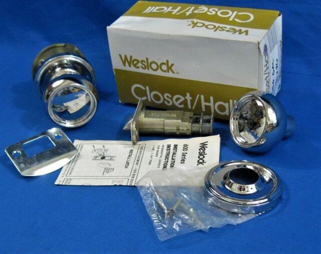 2X Schlage F10SIE625 Siena Passage Door Knob Set Egg Reversible Polished Chrome