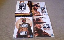 THE SPAGHETTI WESTERN COLLECTION UK 3 DISC DVD BOX SET 2009 Mono Leone Eastwood