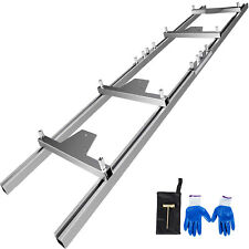 Chainsaw Rail Mill Guide System 9ft 27m 4 Reinforce First Cut Saw Mill Gloves