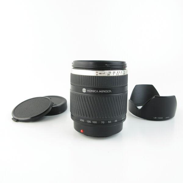 Collection Ici Pour Sony Alpha Af Dt 1:3. 5-6.3 D Zoom 18-200 Mm Objectif Lens + Hood Et Caps Les Couleurs Sont Frappantes
