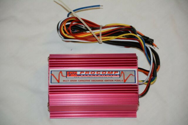 Multiple Spark Cdi 6al Ignition Box 2 Rev Limiters Rotary