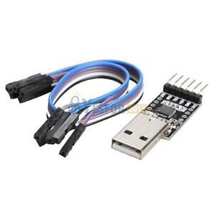 6PIN-USB-2-0-to-UART-TTL-Connector-Module-Serial-Converter-CP2102-6pin-Cables